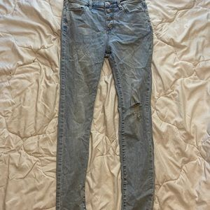 Blue Old Navy jeans, size 16